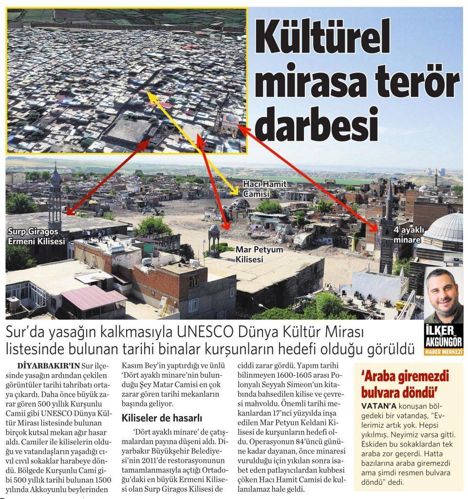 24 Mayıs 2016 Vatan Gazetesi 11. sayfa