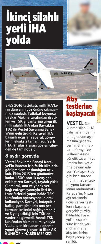 1 Haziran 2016 Vatan Gazetesi 4. sayfa