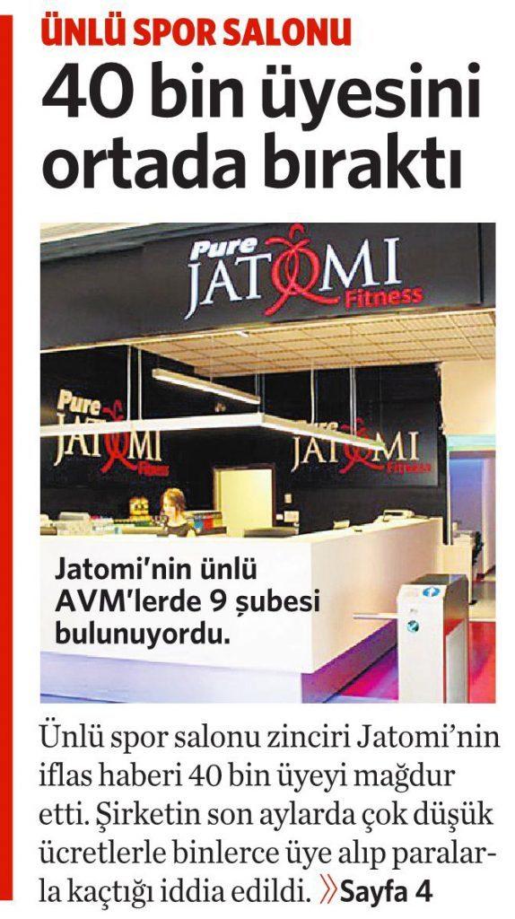 2 Haziran 2016 Vatan Gazetesi 1. sayfa