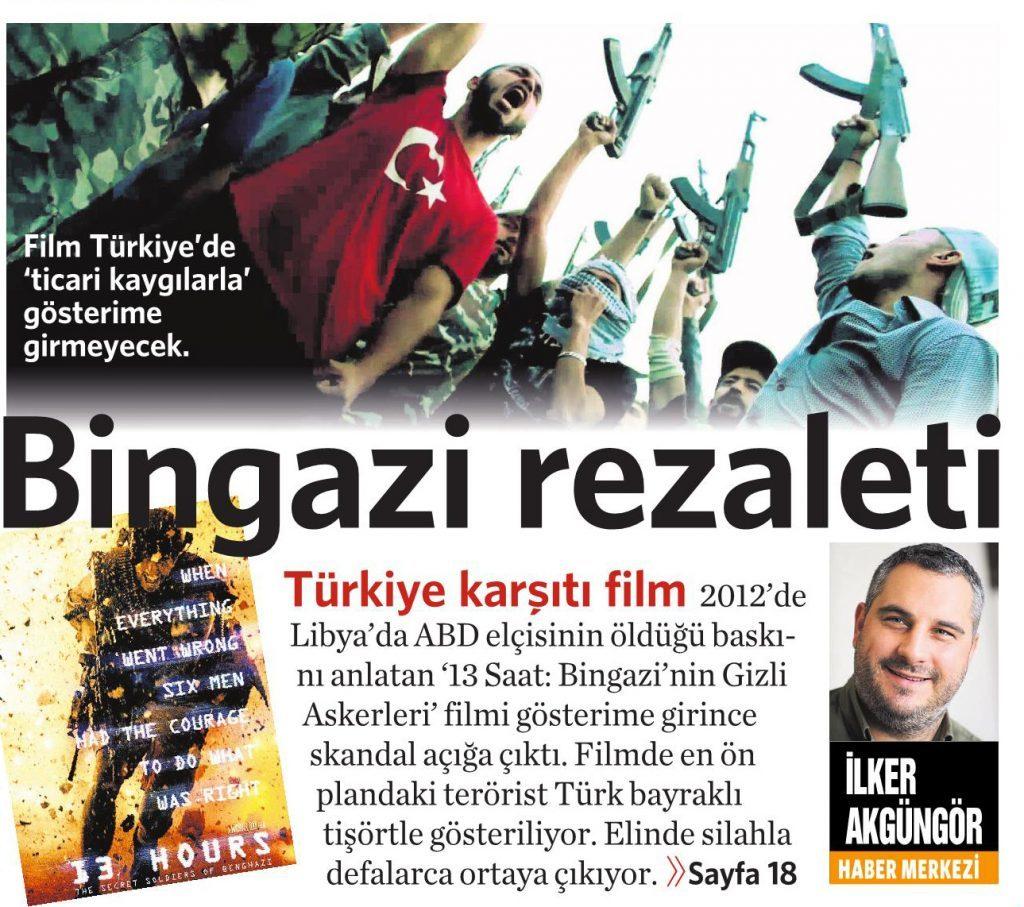3 Haziran 2016 Vatan Gazetesi 1. sayfa