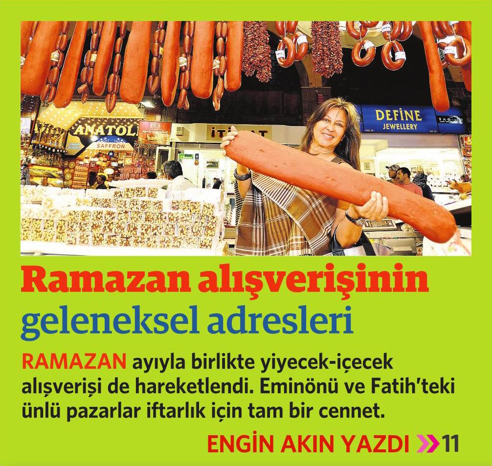5 Haziran 2016 Vatan Gazetesi Pazar eki 1. sayfa