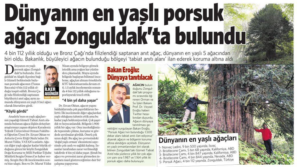 14 Haziran 2016 Vatan Gazetesi 2. sayfa