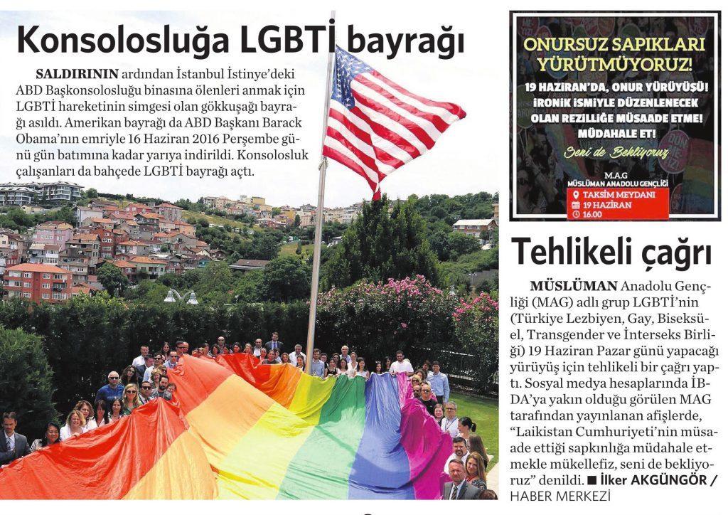 15 Haziran 2016 Vatan Gazetesi 13. sayfa