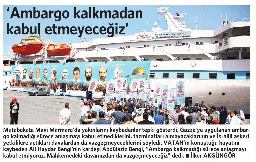28 Haziran 2016 Vatan Gazetesi 10. sayfa