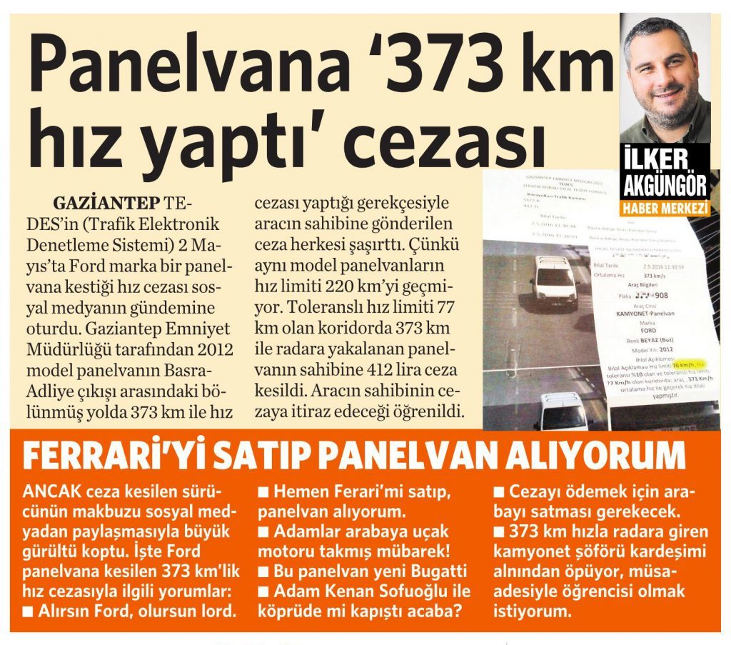 3 Temmuz 2016 Vatan Gazetesi 2. sayfa