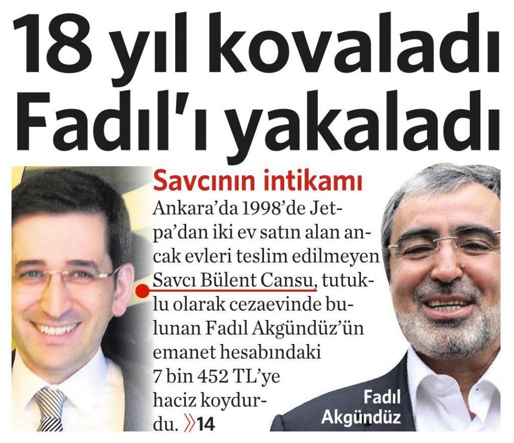 14 Temmuz 2016 Vatan Gazetesi 1. sayfa