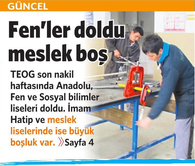 30 Ağustos 2016 Vatan Gazetesi 1. sayfa