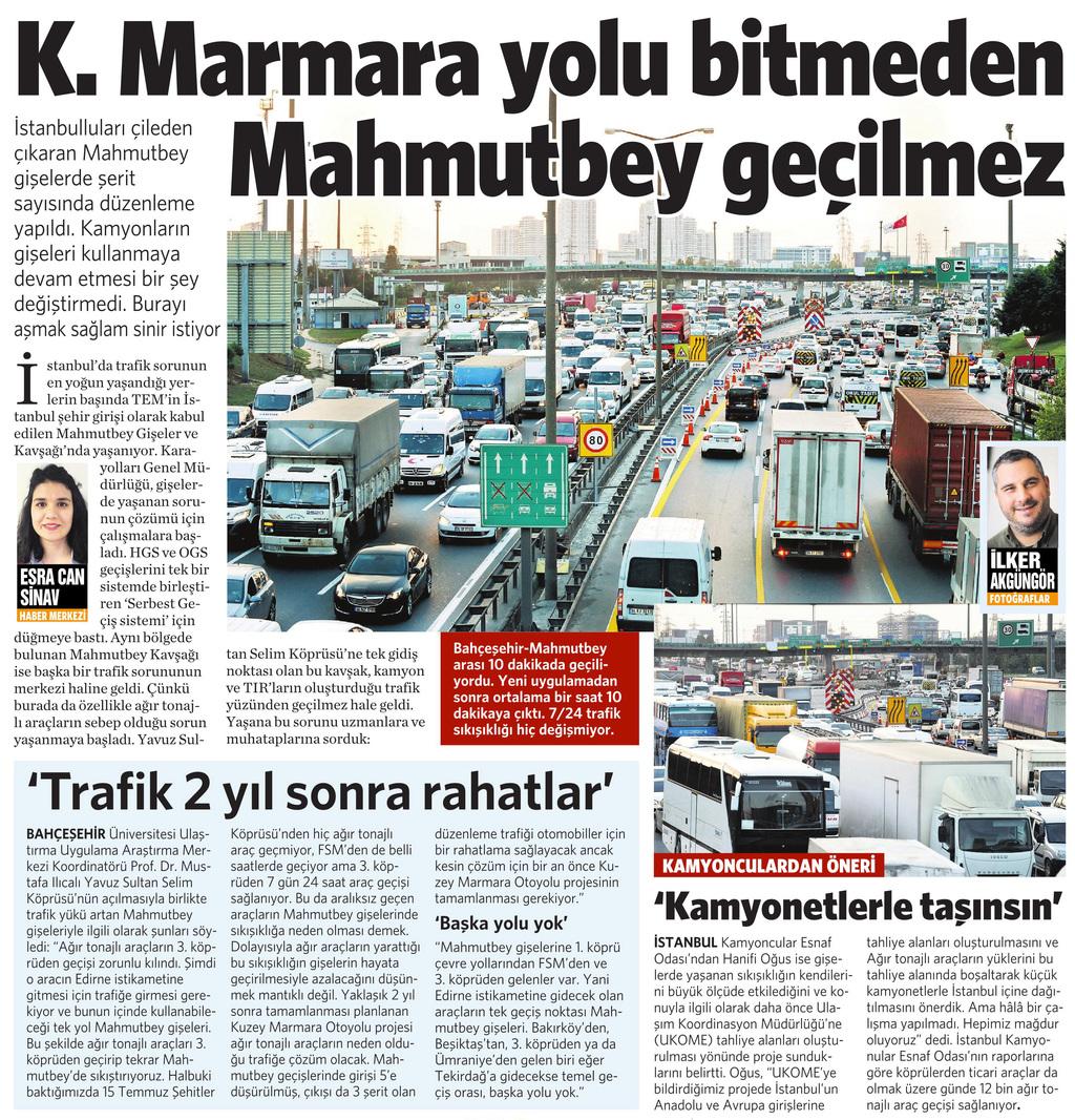8 Ekim 2016 Vatan Gazetesi 10. sayfa