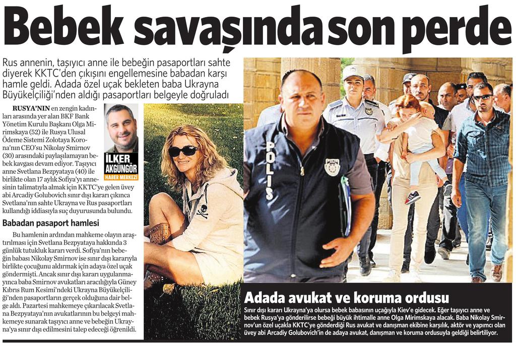 31 Ekim 2016 Vatan Gazetesi 4. sayfa
