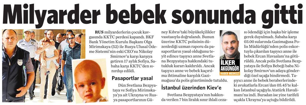 2 Kasım 2016 Vatan Gazetesi 6. sayfa