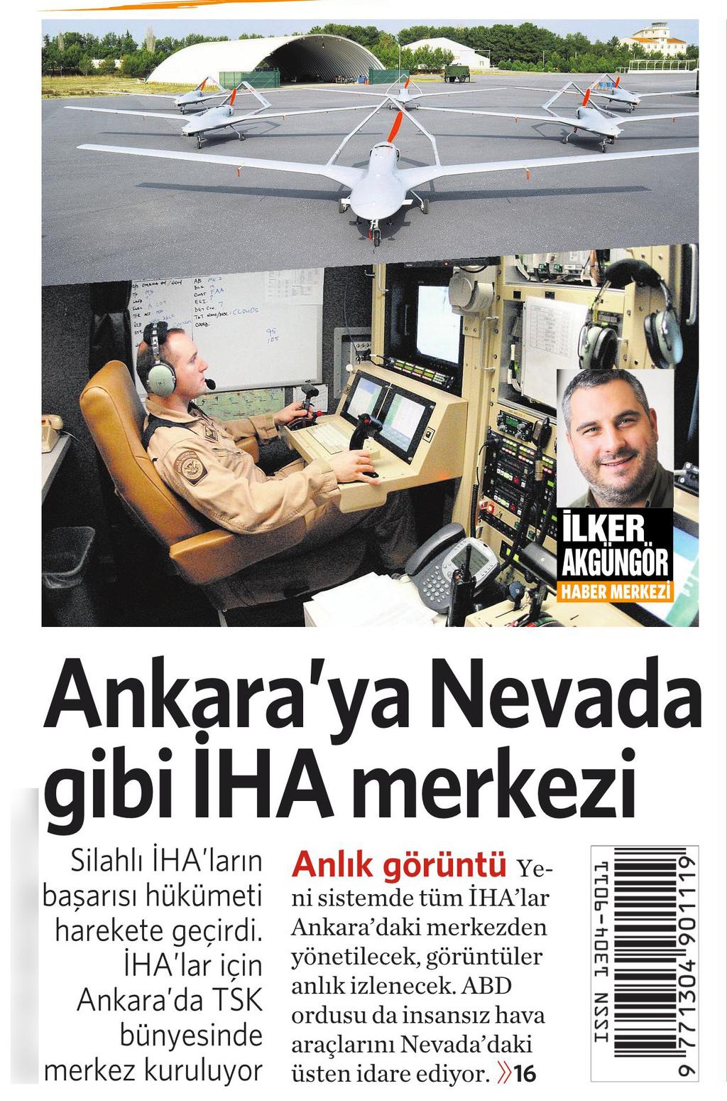 4 Kasım 2016 Vatan Gazetesi 1. sayfa