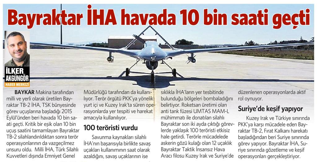 17 Kasım 2016 Vatan Gazetesi 10. sayfa