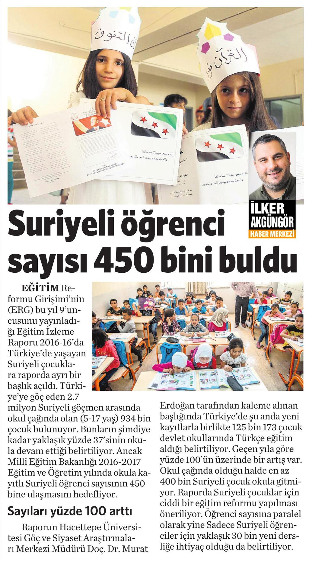 19 Kasım 2016 Vatan Gazetesi 6. sayfa