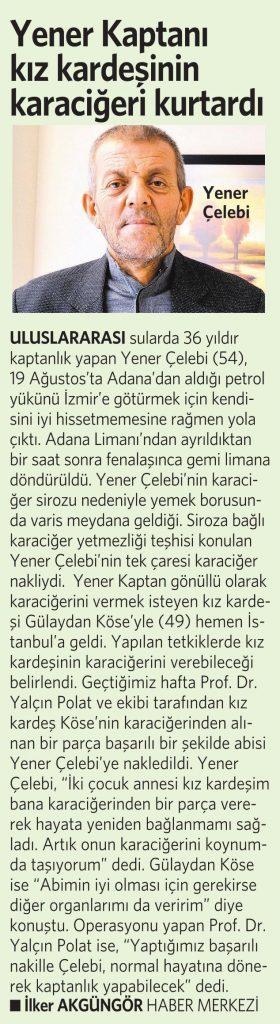 21 Kasım 2016 Vatan Gazetesi 4. sayfa