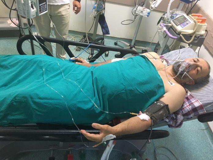 Bıçaklanan Dr. Fikret Öztürk hayati tehlikeyi atlattı