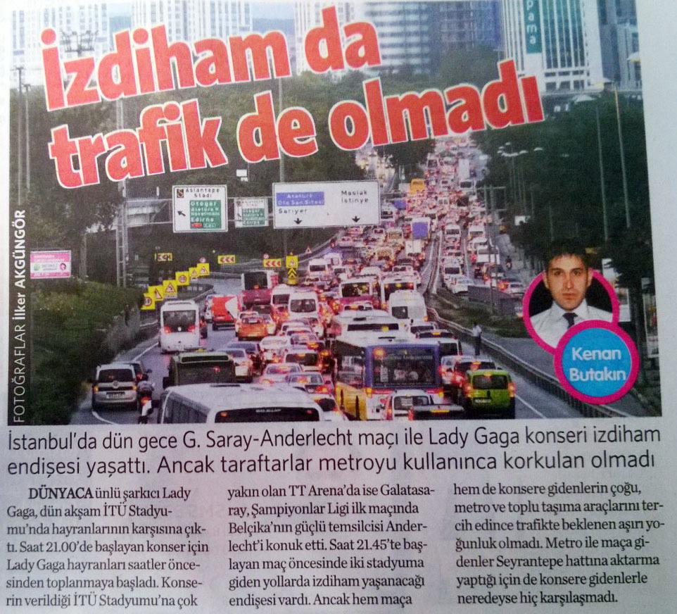 17 Eylül 2014 - Vatan Gazetesi Makaron eki