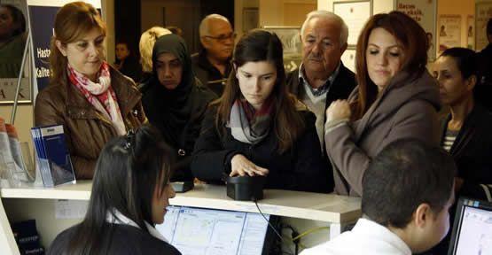 Biyometrik kimlik doğrulama sistemi tekrar özel hastanelerde kullanılmaya başladı.