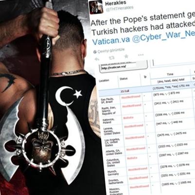Türk hacker THTHerakles ve sosyal medyada yayınladığı server raporu