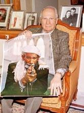 Sigara için ihtiyar adlı tablo