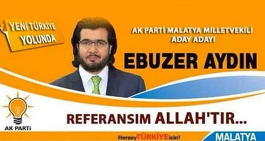 Ebuzer Aydın'ın Facebook'ta yayınladığı afiş görseli