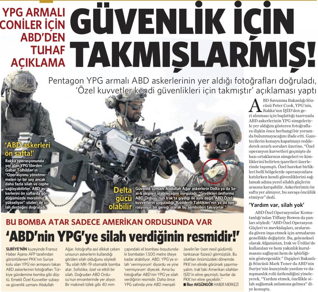 28 Mayıs 2016 Vatan Gazetesi 13. sayfa