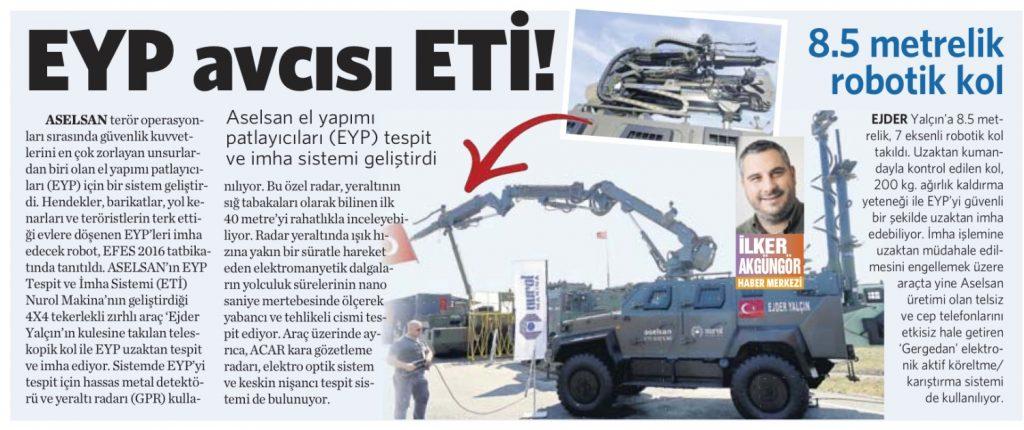4 Haziran 2016 Vatan Gazetesi 12. sayfa