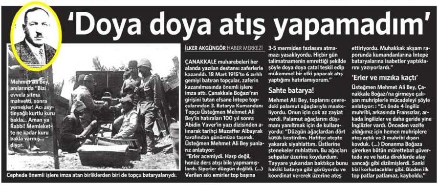19 Mart Vatan Gazetesi 16. sayfa