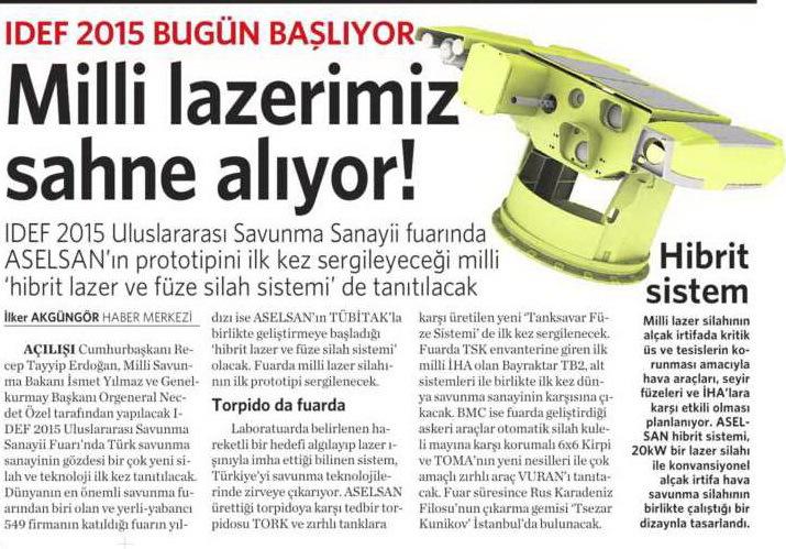 5 Mayıs 2015 Vatan Gazetesi 11. sayfa